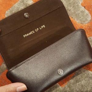 Giorgio Armani Accessories - Leather Giorgio Armani Sunglasses Case